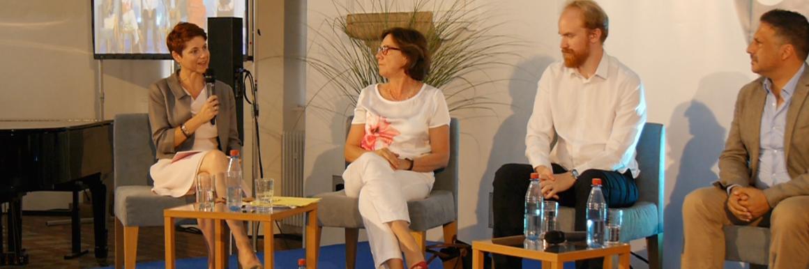 With Mme. Reicherts & Bjorn Ihler.
